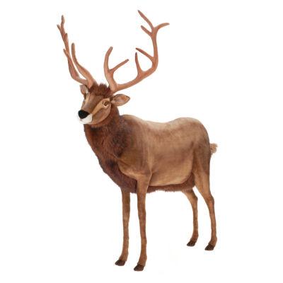 "Hansa Extra Large Reindeer 60"" Plush Toy"