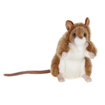 "Hansa Gelbhals Mouse 7"" Plush Toy"