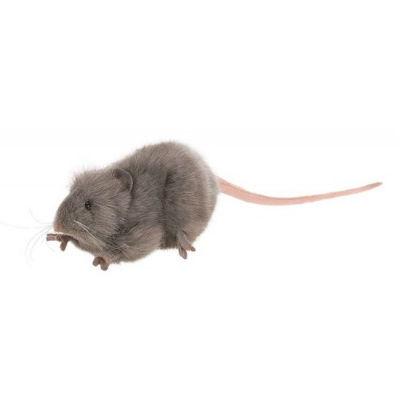 Hansa Gray Mouse Plush Toy