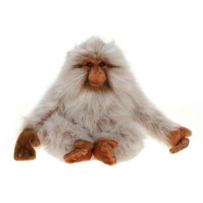 "Hansa Japan Monkey 10"" Plush Toy"