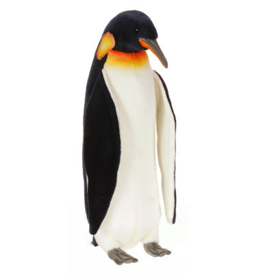 "Hansa Large Emperor Penguin 30"" Plush Toy"""
