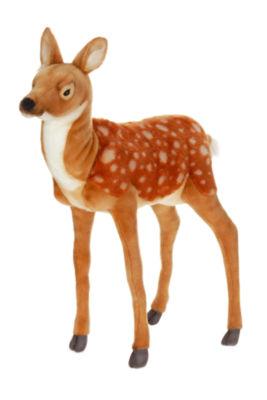 """Hansa Large Standing Bambi Deer 32"""" Plush Toy"""""""