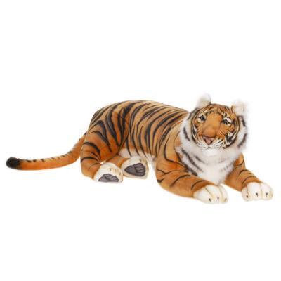 """Hansa Laying Bengal Tiger 40"""" Plush Toy"""""""