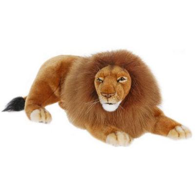 Hansa Laying Lion Plush Toy