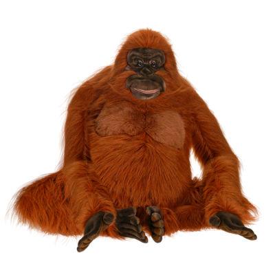 "Hansa Life Size Orangutan 38"" Plush Toy"""