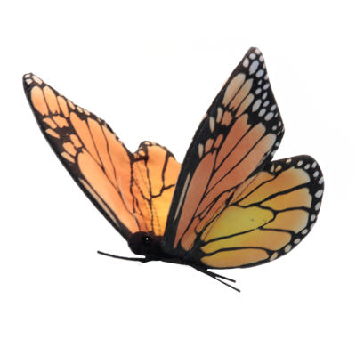 Hansa Monarch Butterfly Plush Toy