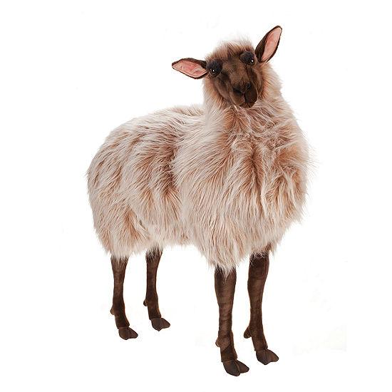 """Hansa Ride-On Gentle Ewe 42"""" Plush Toy"""