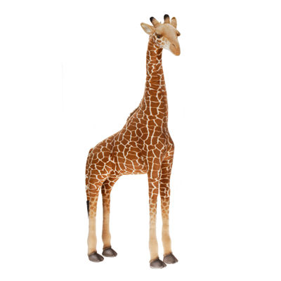 "Hansa Ride-On Giraffe 45"" Plush Toy"