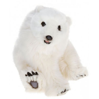 Hansa Seated Polar Cub Plush Toy