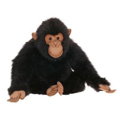 "Hansa Sitting Chimp 18"" Plush Toy"