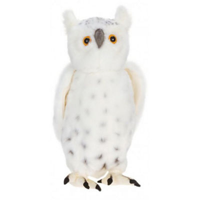 Hansa Snow Owl Plush Toy