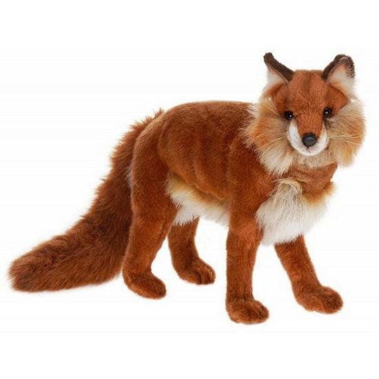 Hansa Standing Red Fox Plush Toy