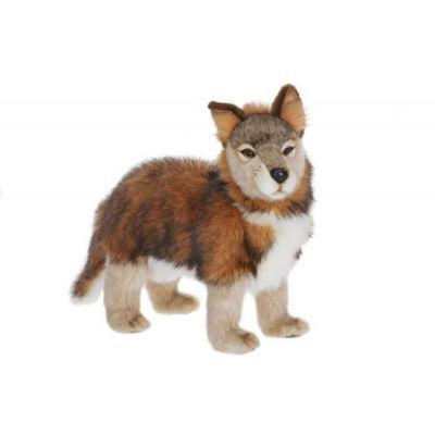 Hansa Standing Wolf Cub Plush Toy
