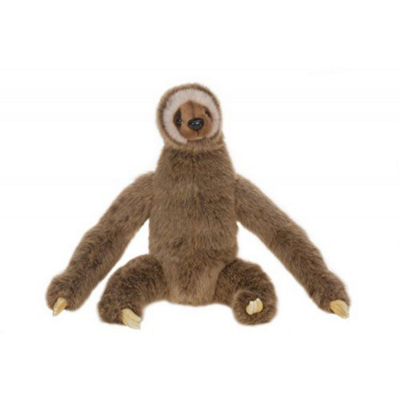 Hansa Three Toed Sloth Plush Toy