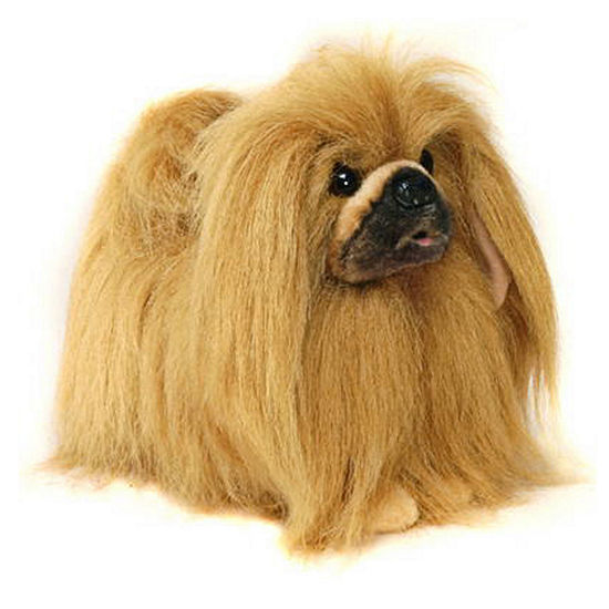 Hansa Toy Size Pekingese Plush Toy
