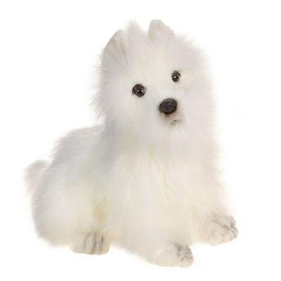 """Hansa Westie Highland Terrier dog 10"""" Plush Toy"""""""