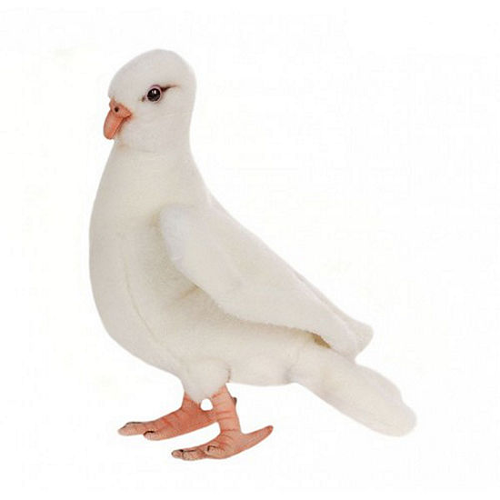 Hansa White Dove Plush Toy