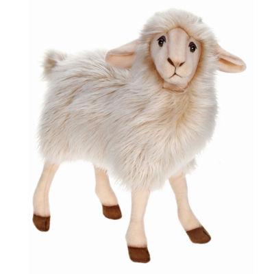 "Hansa White Mama Sheep 16"" Plush Toy"