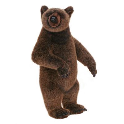 "Hansa Yogi Grizzly Bear 27"" Plush Toy"""
