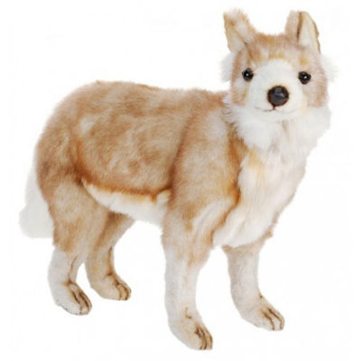 Hansa Young Coyote Plush Toy