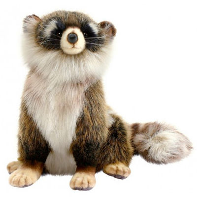 Hansa Young Racoon Plush Toy