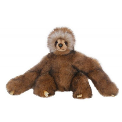 Hansa Young Three Toed Sloth Plush Toy