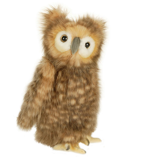 "Hansa Youth Brown Owl 10"" Plush Toy"