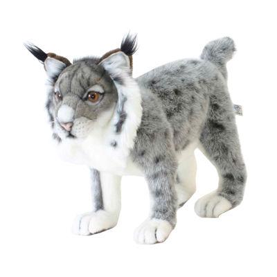 "Hansa Iberian Lynx 16"" Plush Toy"