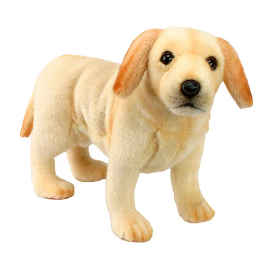 Hansa Plush Labrador Puppy: 10 Inches