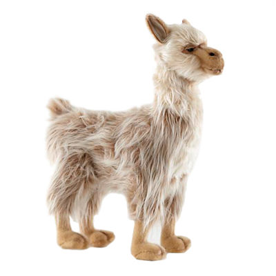 "Hansa Lady Llama 17"" Plush Toy"