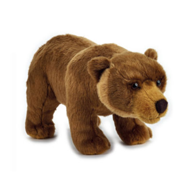 Lelly National Geographic Basic Plush Grizzly Bear