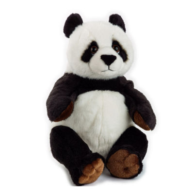 Lelly National Geographic Basic Plush Panda Bear