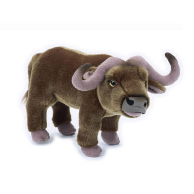 Lelly National Geographic Plush Buffalo