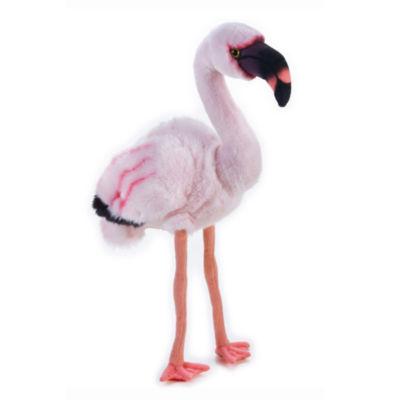 Lelly National Geographic Plush Flamingo