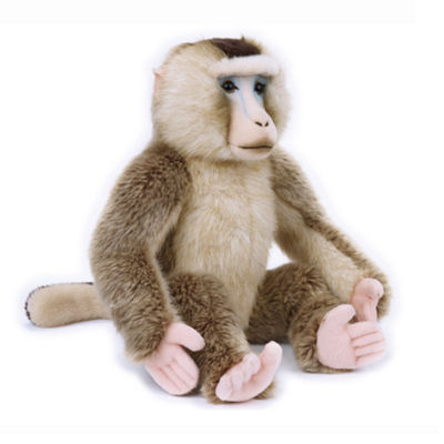 Lelly National Geographic Plush Macaque