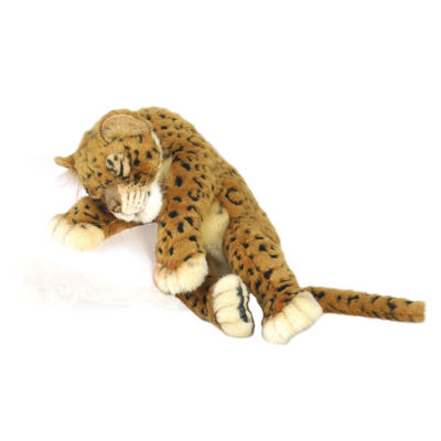 "Hansa Leopard Cub 16"" Plush Toy"""