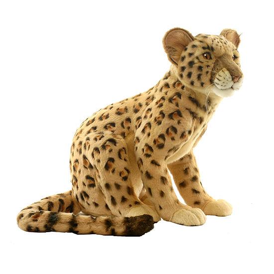 Hansa Plush Leopard Cub: 17 Inches