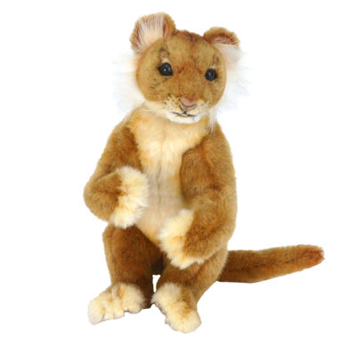 "Hansa Lion Cub 11"" Plush Toy"""