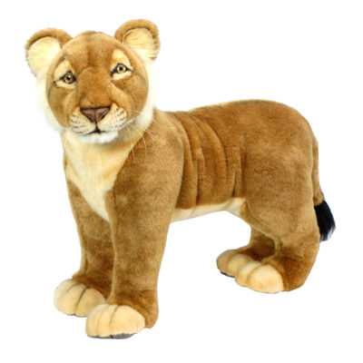 "Hansa Lion Cub 19"" Plush Toy"""