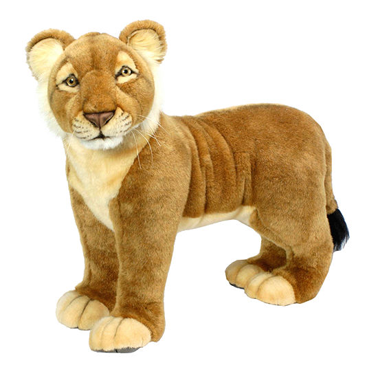 "Hansa Lion Cub 19"" Plush Toy"""