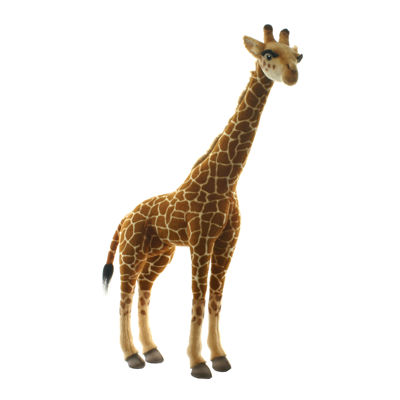 "Hansa Medium Size Giraffe 34"" Plush Toy"""