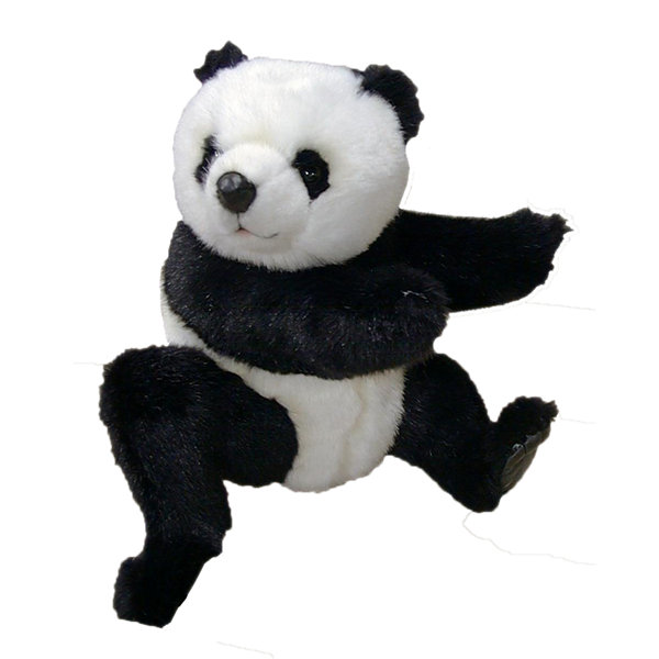 "Hansa Panda 10"" Plush Toy"""