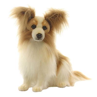 "Hansa Papillion Dog 16"" Plush Toy"
