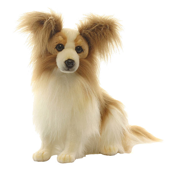 Hansa Plush Papillion Dog: 16 Inches