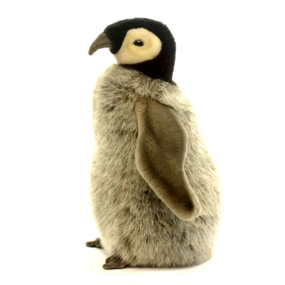 "Hansa Penguin Chick 10"" Plush Toy"""