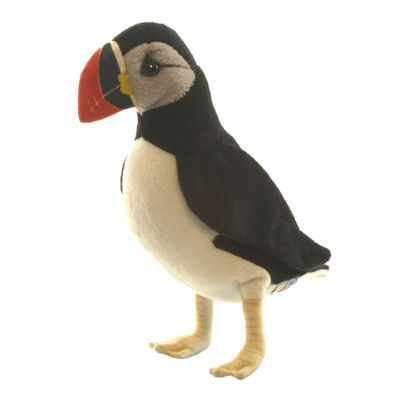 "Hansa Puffin 8"" Plush Toy"""