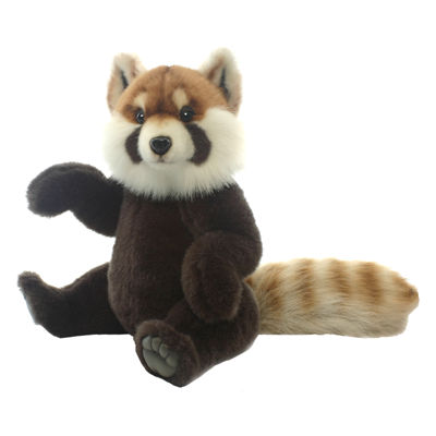 "Hansa Red Panda 15"" Plush Toy"