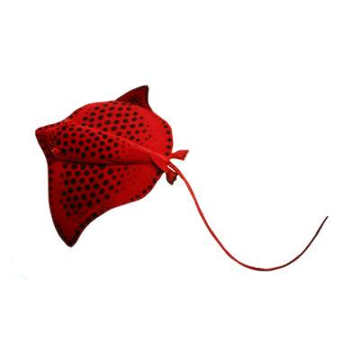"""Hansa Red Stingray 20"""" Plush Toy"""""""