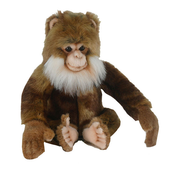 "Hansa Salem Monkey 7"" Plush Toy"