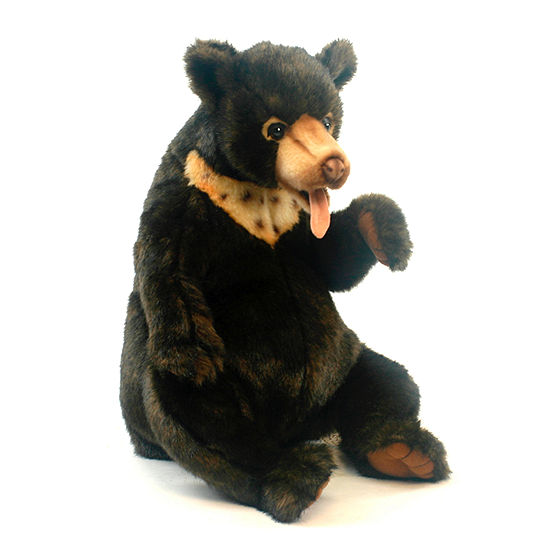 "Hansa Sunbear Cub 11"" Plush Toy"""